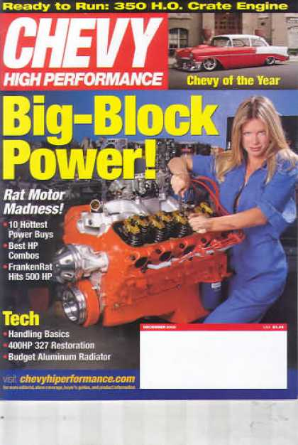 Chevy High Performance - December 2002