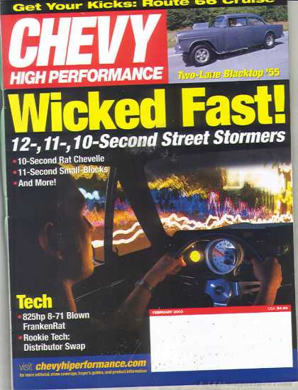 Chevy High Performance - February 2003