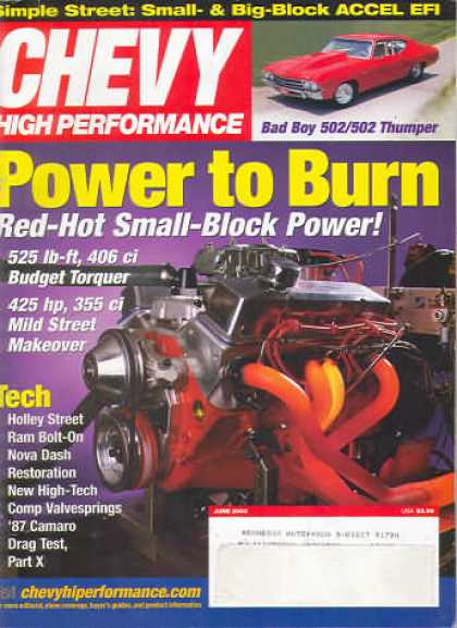 Chevy High Performance - June 2003