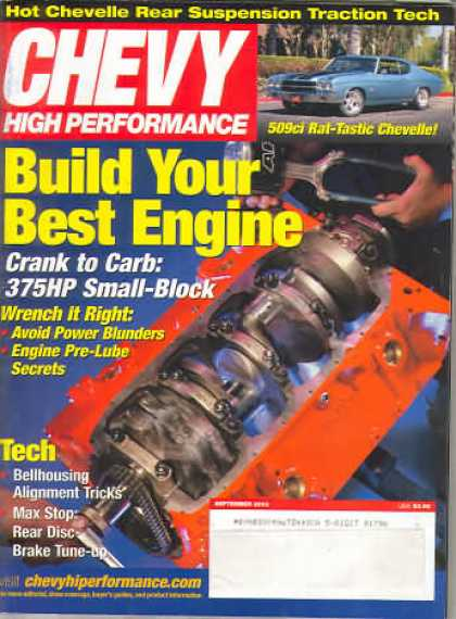 Chevy High Performance - September 2003