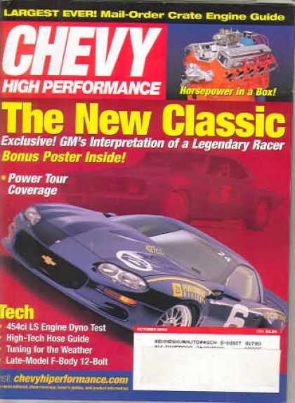 Chevy High Performance - October 2003