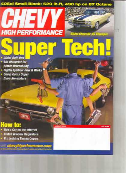 Chevy High Performance - January 2004