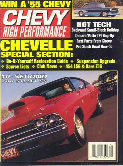Chevy High Performance - April 1992