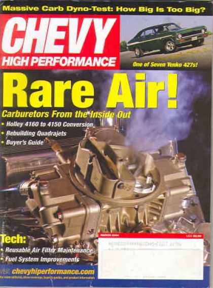 Chevy High Performance - March 2004