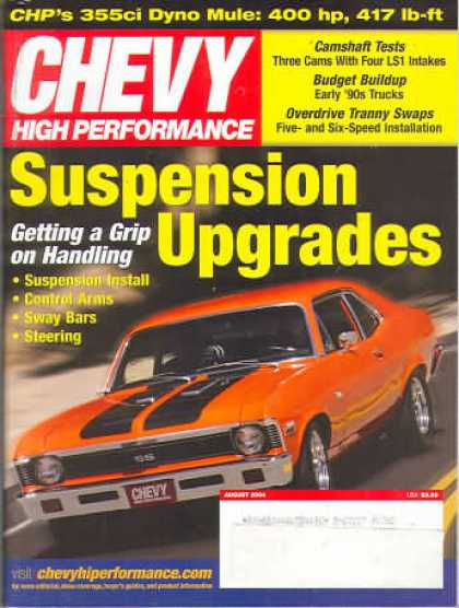 Chevy High Performance - August 2004