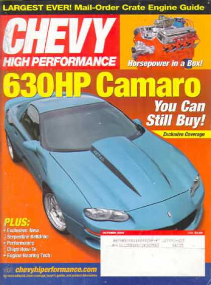 Chevy High Performance - October 2004
