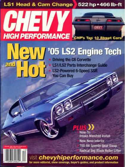 Chevy High Performance - December 2004