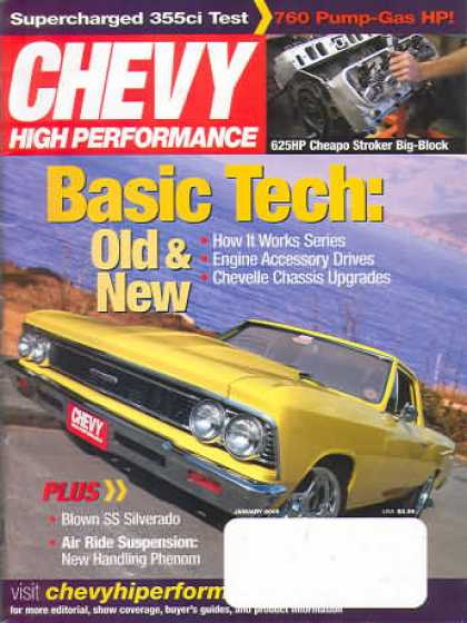 Chevy High Performance - January 2005