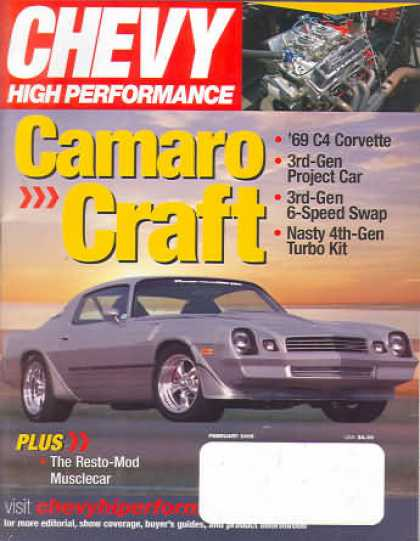 Chevy High Performance - February 2005