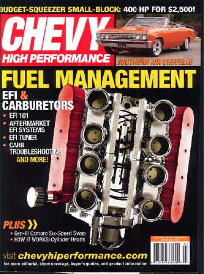 Chevy High Performance - March 2005