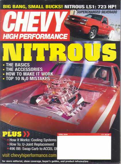 Chevy High Performance - April 2005