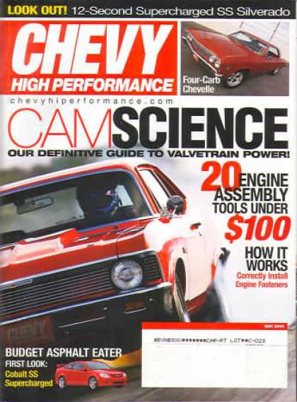 Chevy High Performance - May 2005