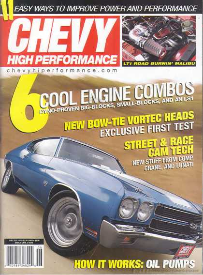 Chevy High Performance - June 2005