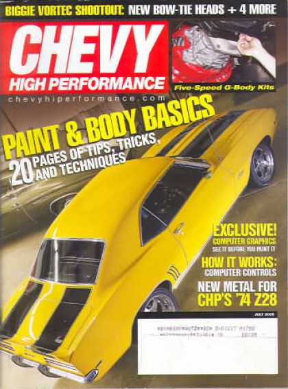 Chevy High Performance - July 2005