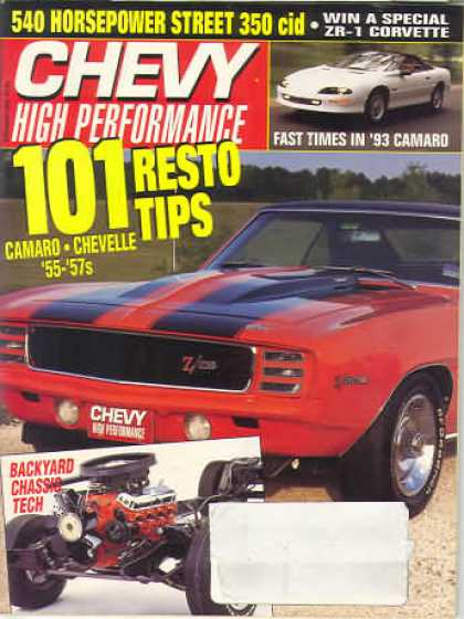 Chevy High Performance - February 1993