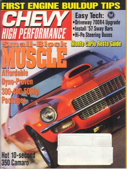 Chevy High Performance - April 1993