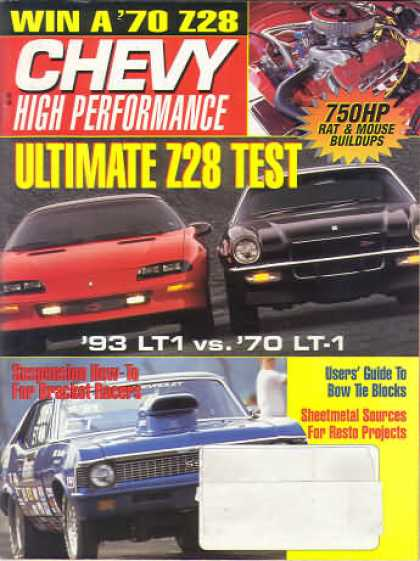 Chevy High Performance - June 1993