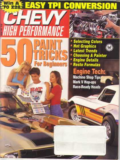 Chevy High Performance - August 1993