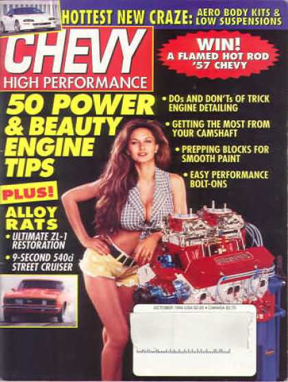 Chevy High Performance - October 1994