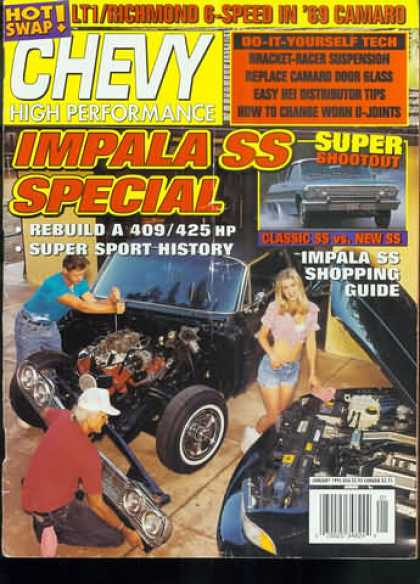 Chevy High Performance - January 1995