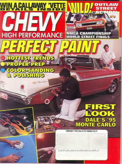 Chevy High Performance - February 1995
