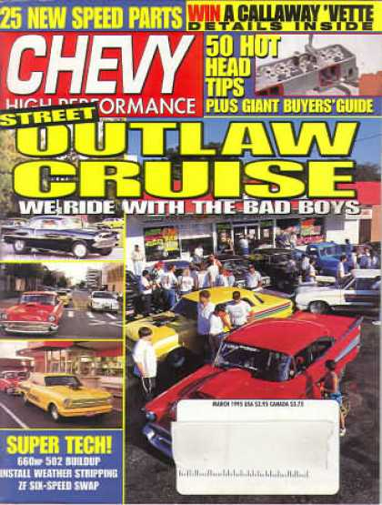Chevy High Performance - March 1995