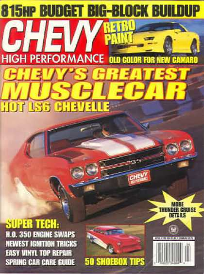 Chevy High Performance - April 1995