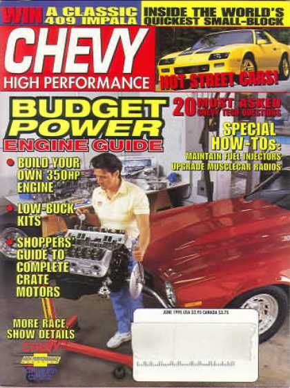 Chevy High Performance - June 1995