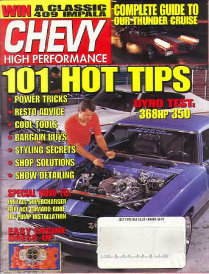 Chevy High Performance - July 1995