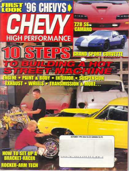 Chevy High Performance - October 1995