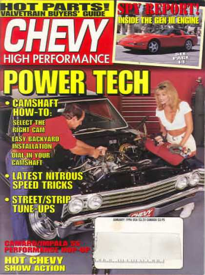 Chevy High Performance - January 1996