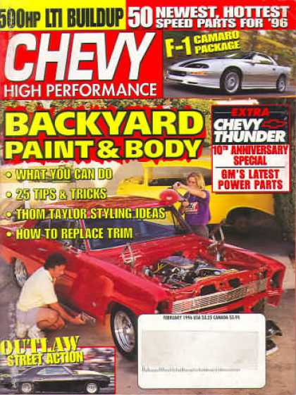 Chevy High Performance - February 1996