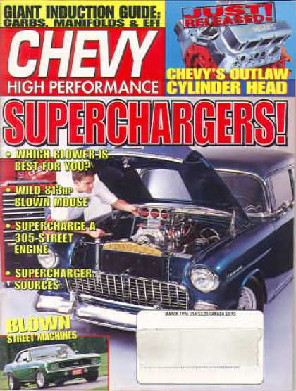 Chevy High Performance - March 1996