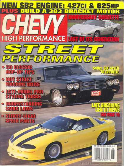 Chevy High Performance - May 1996