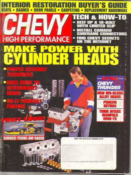 Chevy High Performance - June 1996