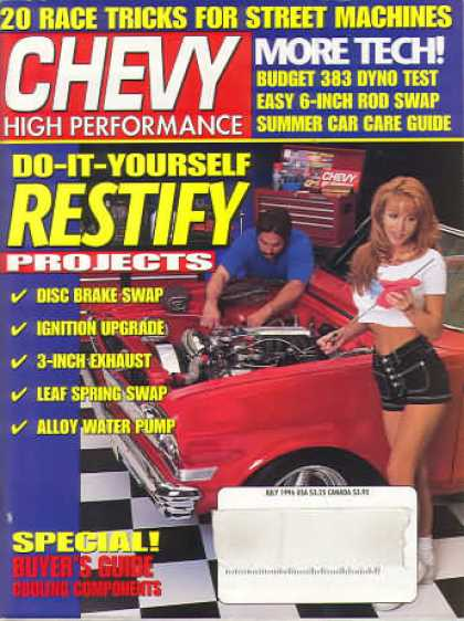 Chevy High Performance - July 1996