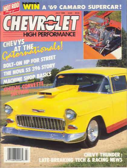 Chevy High Performance - July 1988