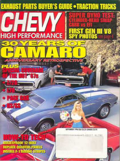 Chevy High Performance - September 1996