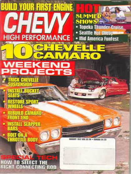 Chevy High Performance - January 1997