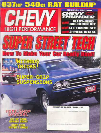 Chevy High Performance - February 1997