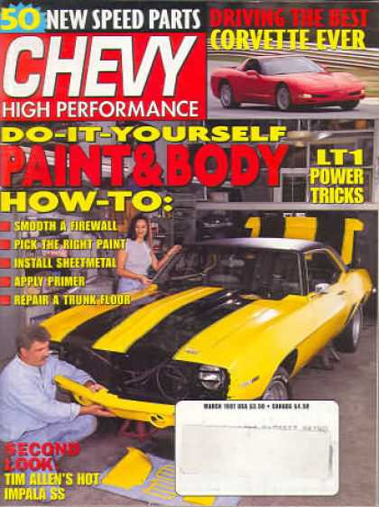 Chevy High Performance - March 1997