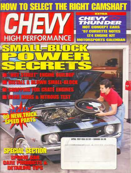 Chevy High Performance - April 1997