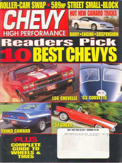 Chevy High Performance - May 1997