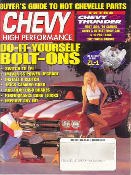 Chevy High Performance - June 1997