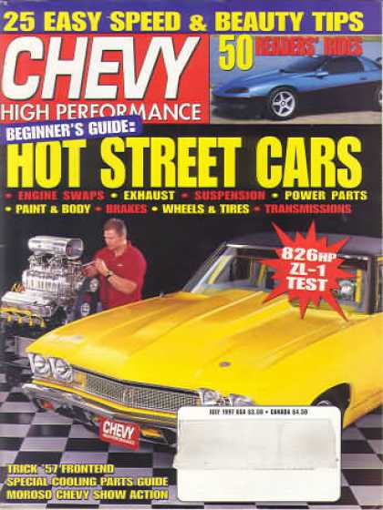 Chevy High Performance - July 1997