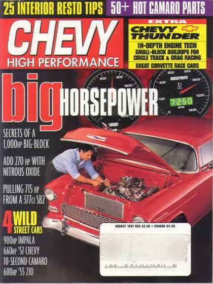 Chevy High Performance - August 1997