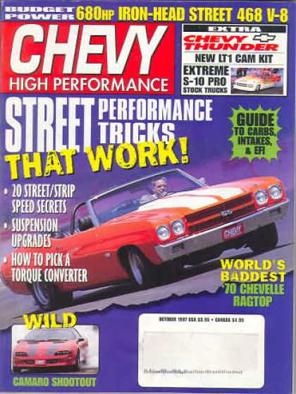 Chevy High Performance - October 1997
