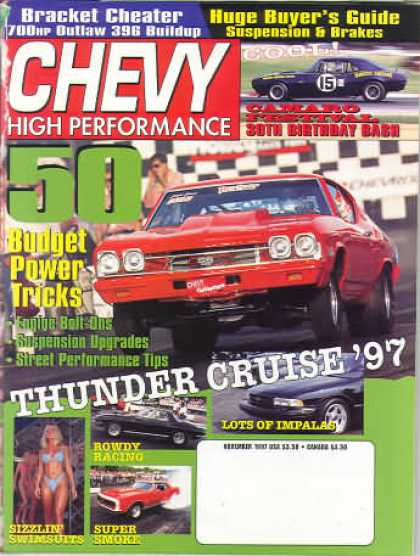 Chevy High Performance - November 1997