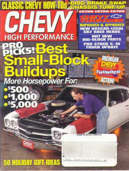 Chevy High Performance - December 1997