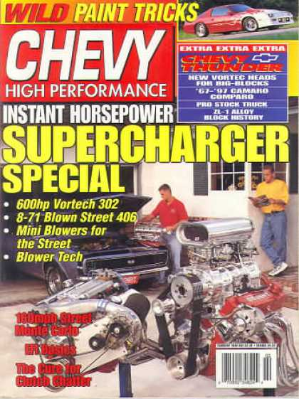 Chevy High Performance - February 1998